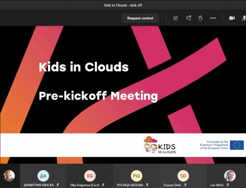 We are a proud lead partner of the Erasmus+ Kids in Clouds project